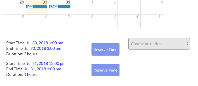 How-to create a Calendar Repeating Group using Bubble.