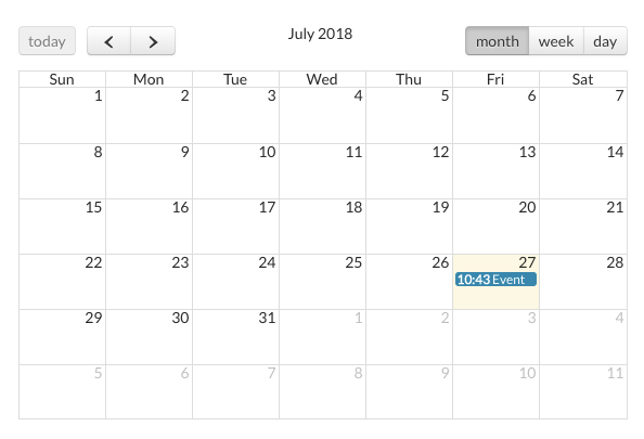 How to create a Calendar app using Bubble