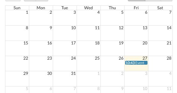 How to create a Calendar app using Bubble