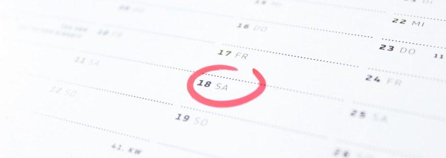 Web-app calendar
