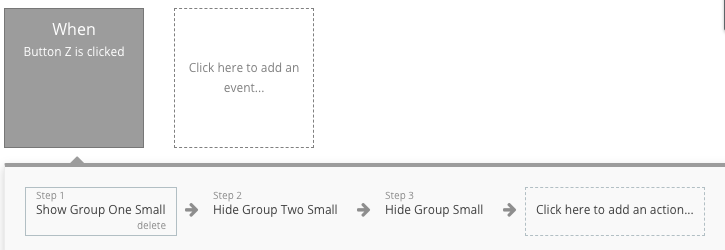 How not to show/hide Groups