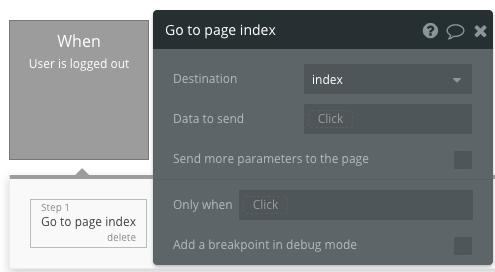 Goto index page
